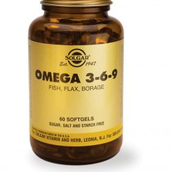 Omega 3-6-9 Fish, Flax, Borage 60 Softgels