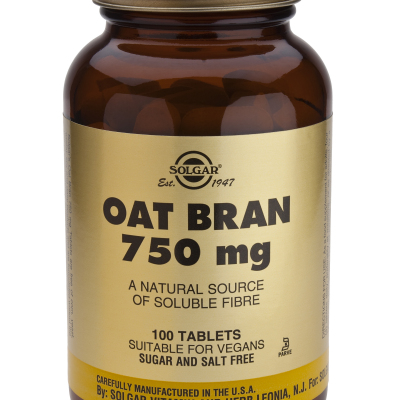 Oat Bran 750 mg 100 Tablets