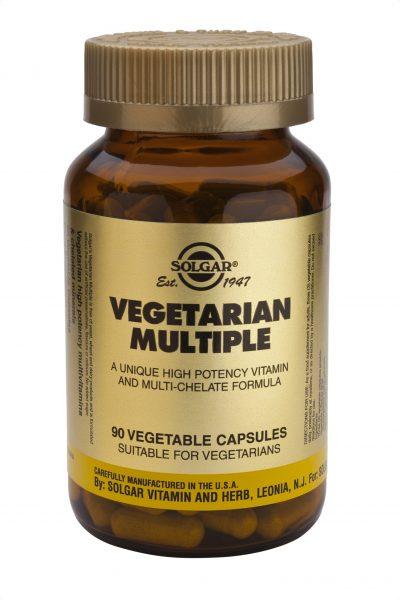 Vegetarian Multiple 90 Vegetable Capsules