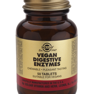 Vegan Digestive Enzymes Tablets 50 chews