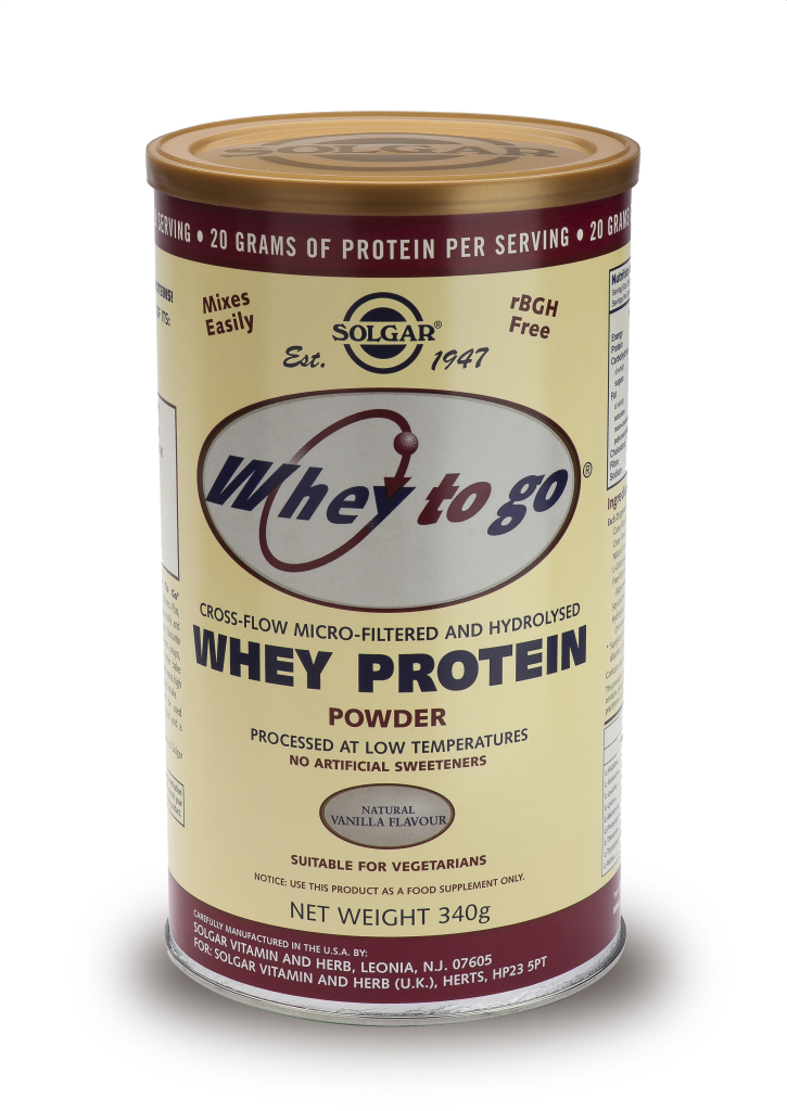Whey To Go(R) Whey Protein Powder Natural Vanilla Flavour