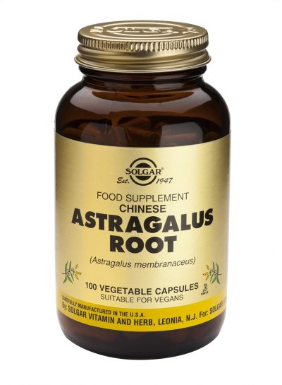 Chinese Astragalus Root 100 Vegetable Capsules
