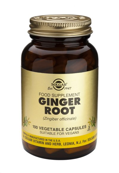 Ginger Root 100 Vegetable Capsules