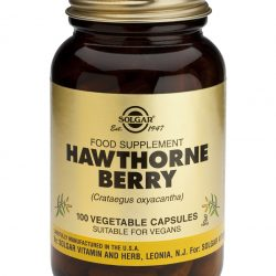 Hawthorne Berry 100 Vegetable Capsules
