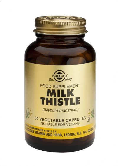 Milk Thistle 50 Vegetable Capsules