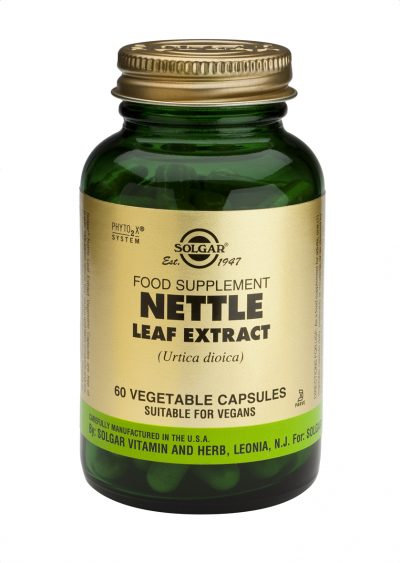 Nettle Leaf Extract 60 Vegetable Capsules