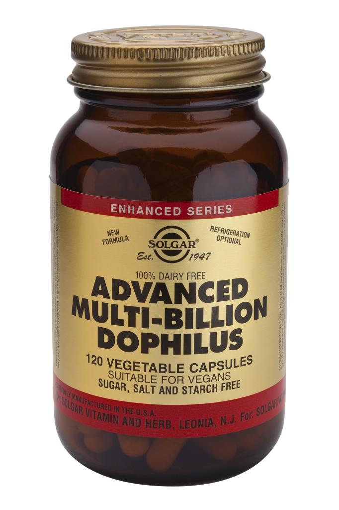 Advanced Multi-Billion Dophilus(R) (100% Dairy Free) 120 Vegetable Capsules