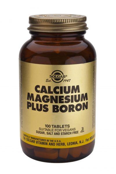 Calcium Magnesium Plus Boron 100 Tablets