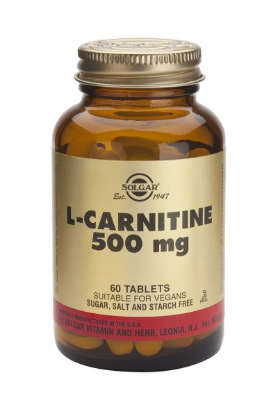 L-Carnitine 500 mg 60 Tablets