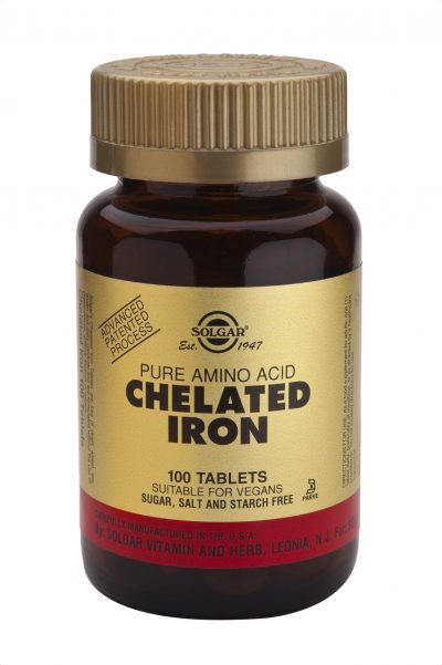 Chelated Iron 100 Tablets