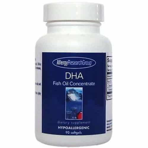 Allergy Research DHA Fish Oil Concentrate 90 softgels