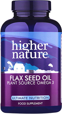 Higher Nature Flax Seed Oil Caps 60 caps