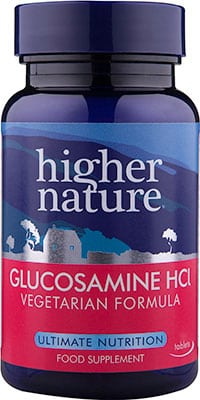 Higher Nature Vegetarian Glucosamine HCl 90 tabs