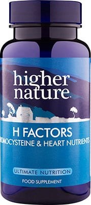 Higher Nature H Factors 60 tabs