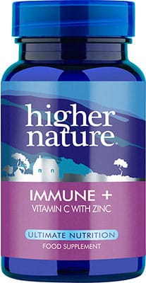 Higher Nature Immune + 90 tabs