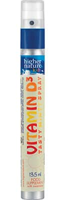 Higher Nature Kids Vitamin D3 spray