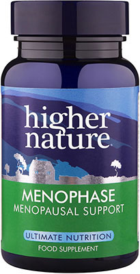 Higher Nature Menophase Menopause Support 90 caps