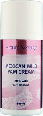 Higher Nature Mexican Wild Yam Cream 100ml