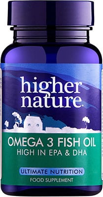 Higher Nature Omega 3 Fish Oil 1000mg 90 caps