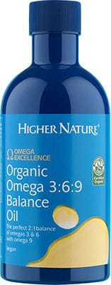 Higher Nature Omega Excellence Organic Omega 369 Balance Oil 350ml