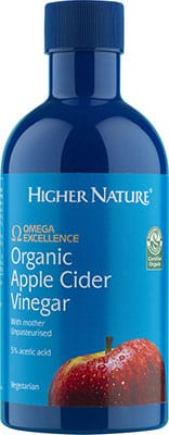 Higher Nature Omega Excellence Organic Apple Cider Vinegar 350ml