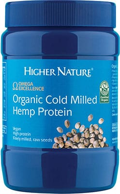 Higher Nature Omega Excellence Organic Cold Milled Hemp Protein 250g