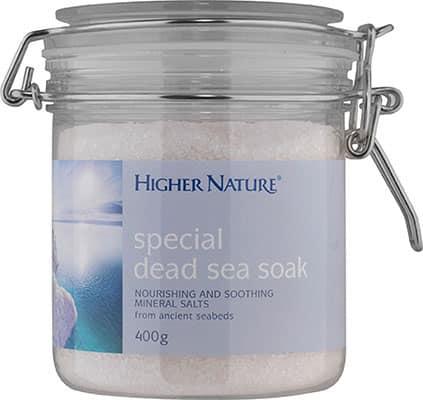 Higher Nature Special Dead Sea Soak 400g salts
