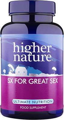 Higher Nature SX for Great Sex 90 caps