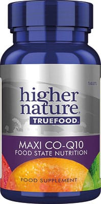 Higher Nature True Food MAXI Q10 30mg 60 caps