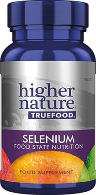 Higher Nature True Food Selenium 200mcg 60 tabs