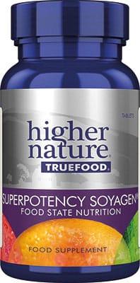Higher Nature True Food Super Potency Soyagen 90 tabs