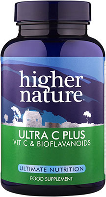 Higher Nature Ultra C Plus with Bioflavonoids 90 tabs