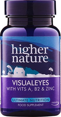 Higher Nature VisualEyes - Eye Protection 90 caps