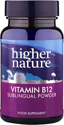 Higher Nature High Strength Vitamin B12 Powder 30g