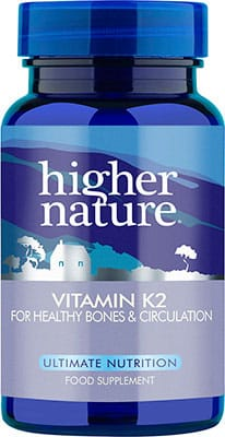 Higher Nature Vitamin K2 30 tabs