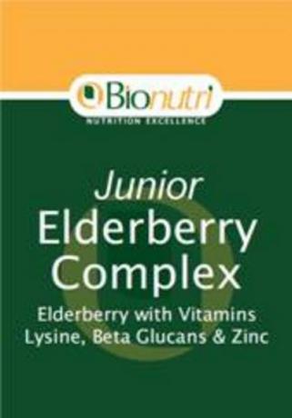 Bionutri Junior Elderberry Complex 60 caps