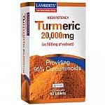 Lamberts Turmeric 20,000mg 60 tabs