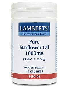 Lamberts Pure Starflower Oil 1000mg 90 caps