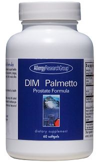 Allergy Research DIM Palmetto Prostate Formula 60 softgels