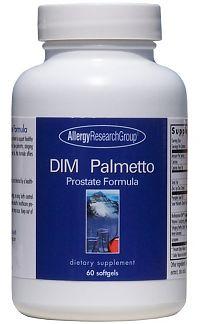 Allergy Research DIM Palmetto Prostate Formula 60 softgels