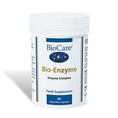 Biocare BioEnzyme (formerly Digestaid) 60 Veg Caps