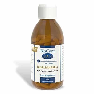 Biocare BioAcidophilus 120 Veg Caps