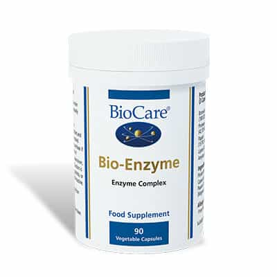 Biocare BioEnzyme (formerly Digestaid) 90 Veg Caps