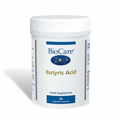 Biocare Butyric Acid 90 Veg Caps