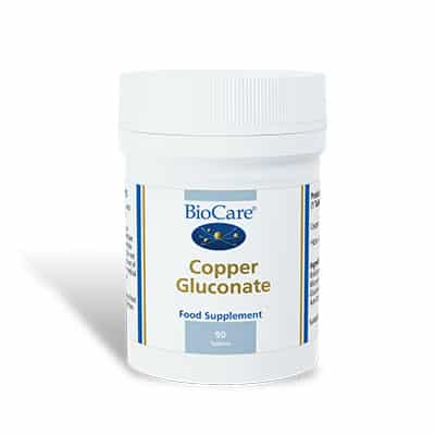 Biocare Copper Gluconate 90 Tabs