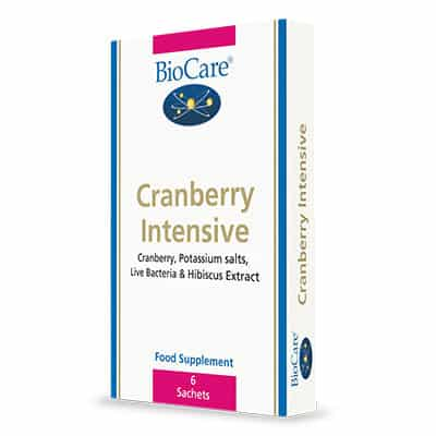 Biocare Cranberry Intensive 6x 10g Powder Sachets