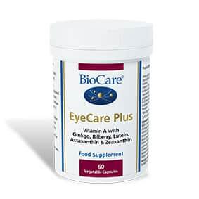 Biocare Eyecare Plus 60 Veg Caps