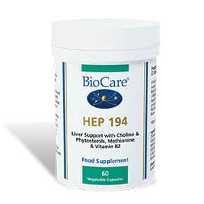 Biocare HEP 194 Liver Support 60 Veg Caps