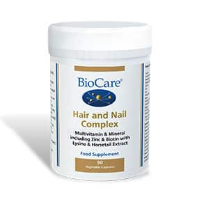 Biocare Hair and Nail Complex 90 Veg Caps