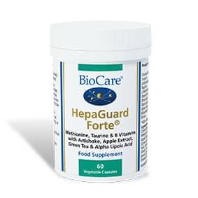 Biocare HepaGuard Forte Liver Support 60 Veg Caps